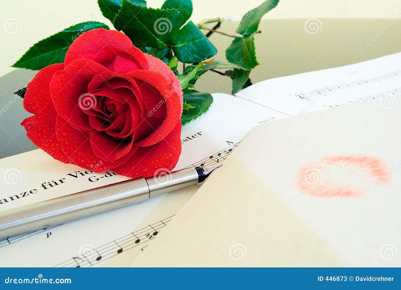 Composizione in giorno del biglietto di S. Valentino