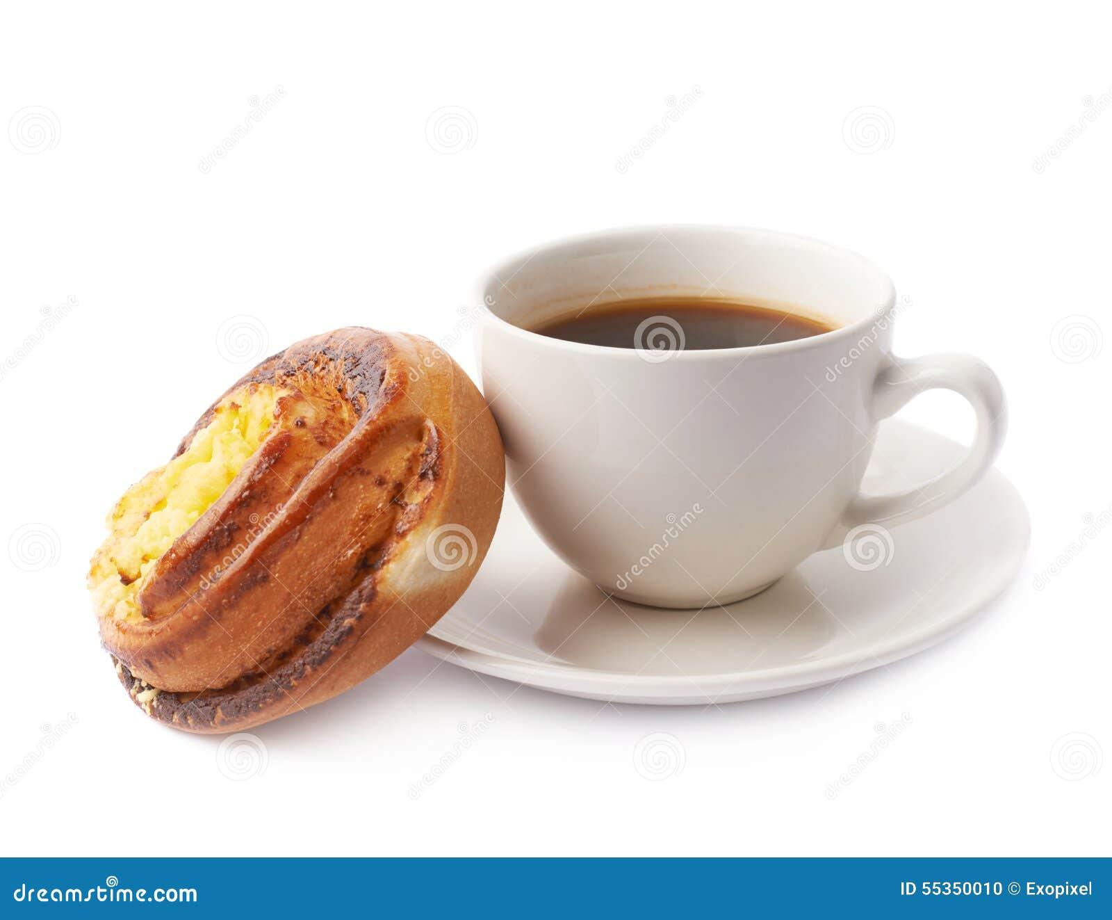 Composizione nella pasticceria e nella tazza di caffè