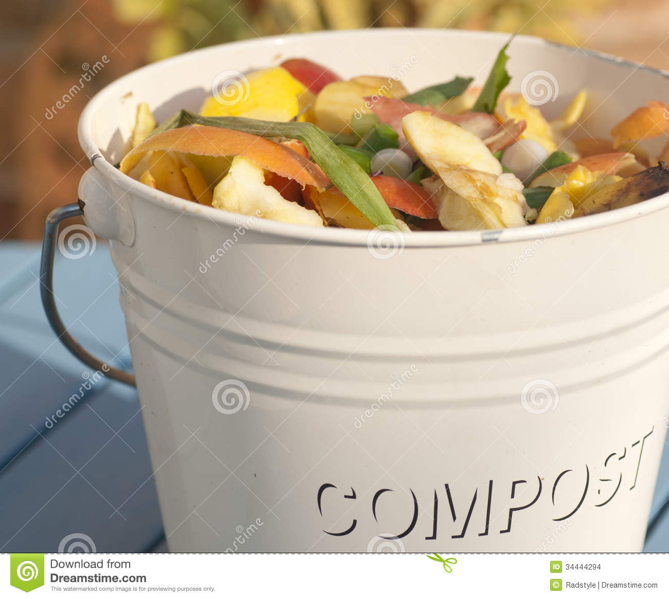 Compost Bin Detail Stock Images - Image: 34444294
