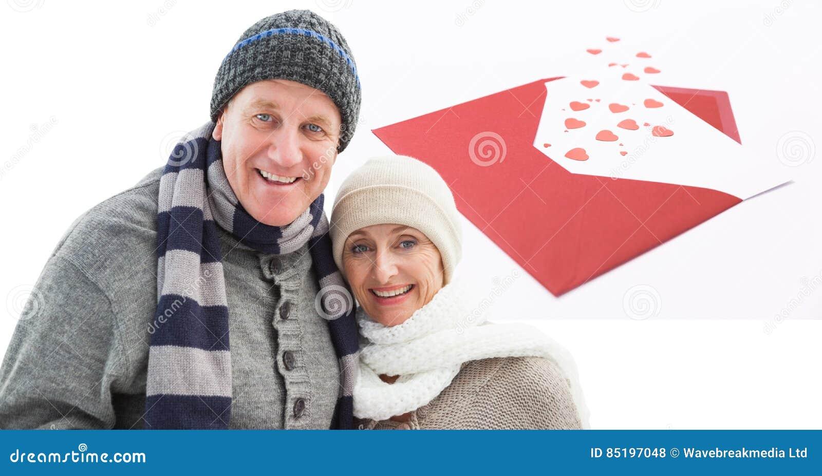 Composto di Digital delle coppie amorose