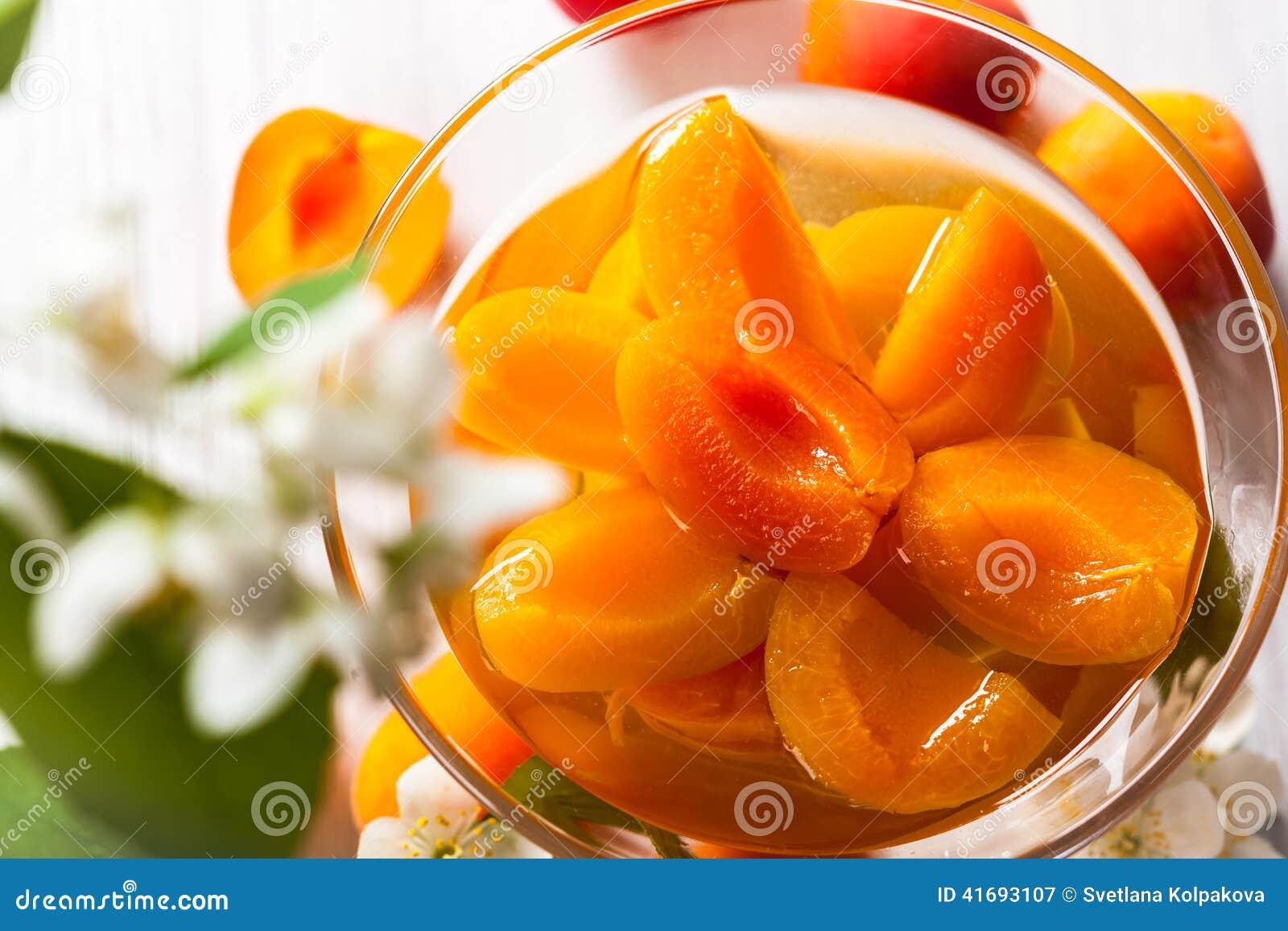 Compote d abricot