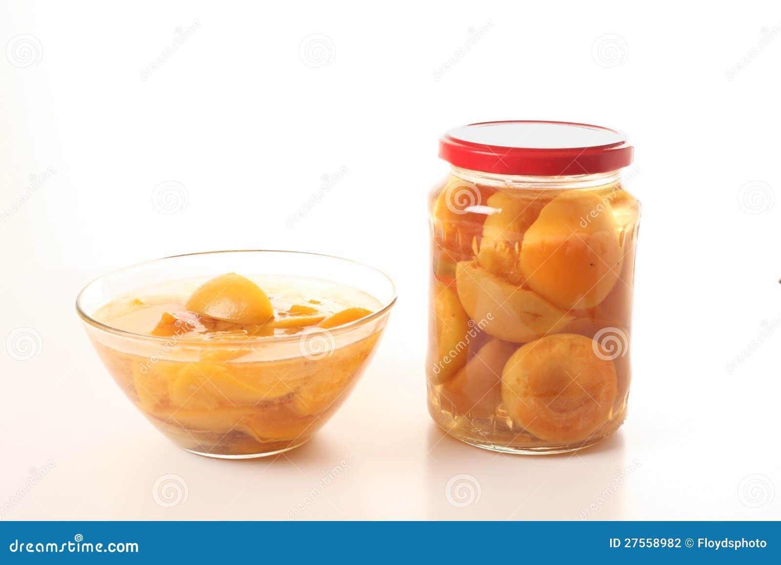 Compote faite maison d abricot