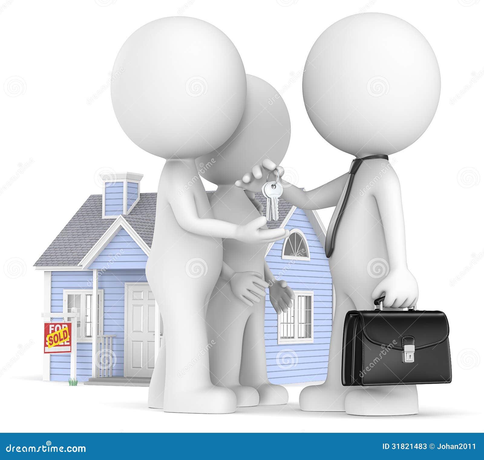 Compra de una casa fotos de archivo imagen 31821483 - Compra de casa ...