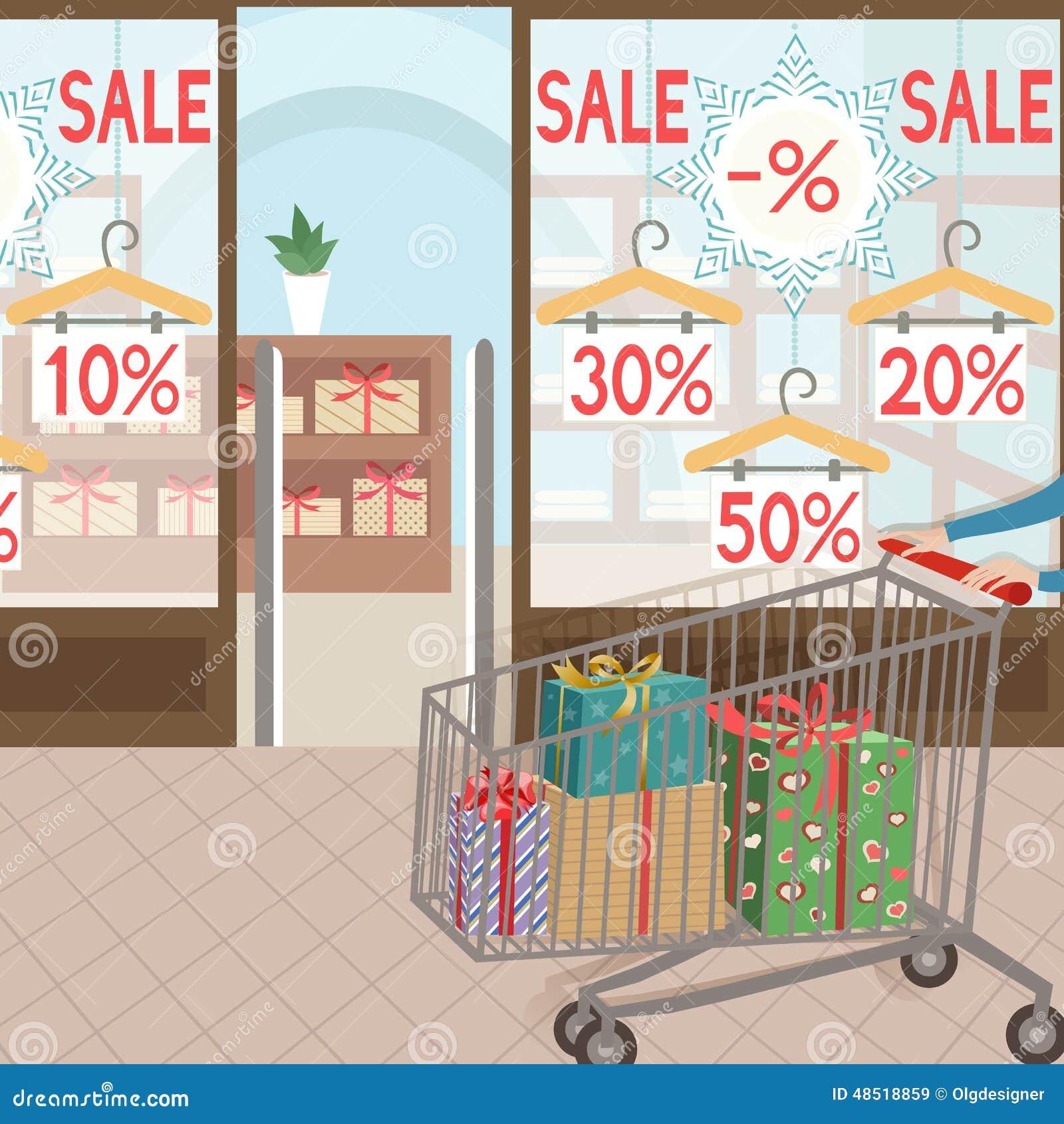 Compra e presentes Etiqueta sazonal de sale