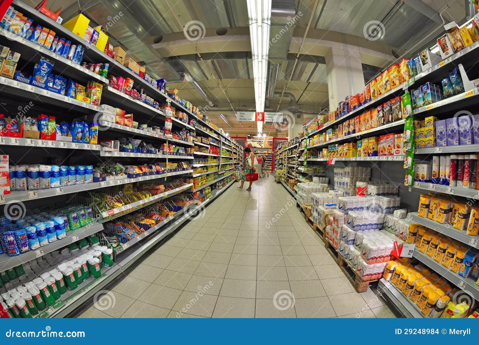 Download Compra no supermercado imagem de stock editorial. Imagem de alimento - 29248984
