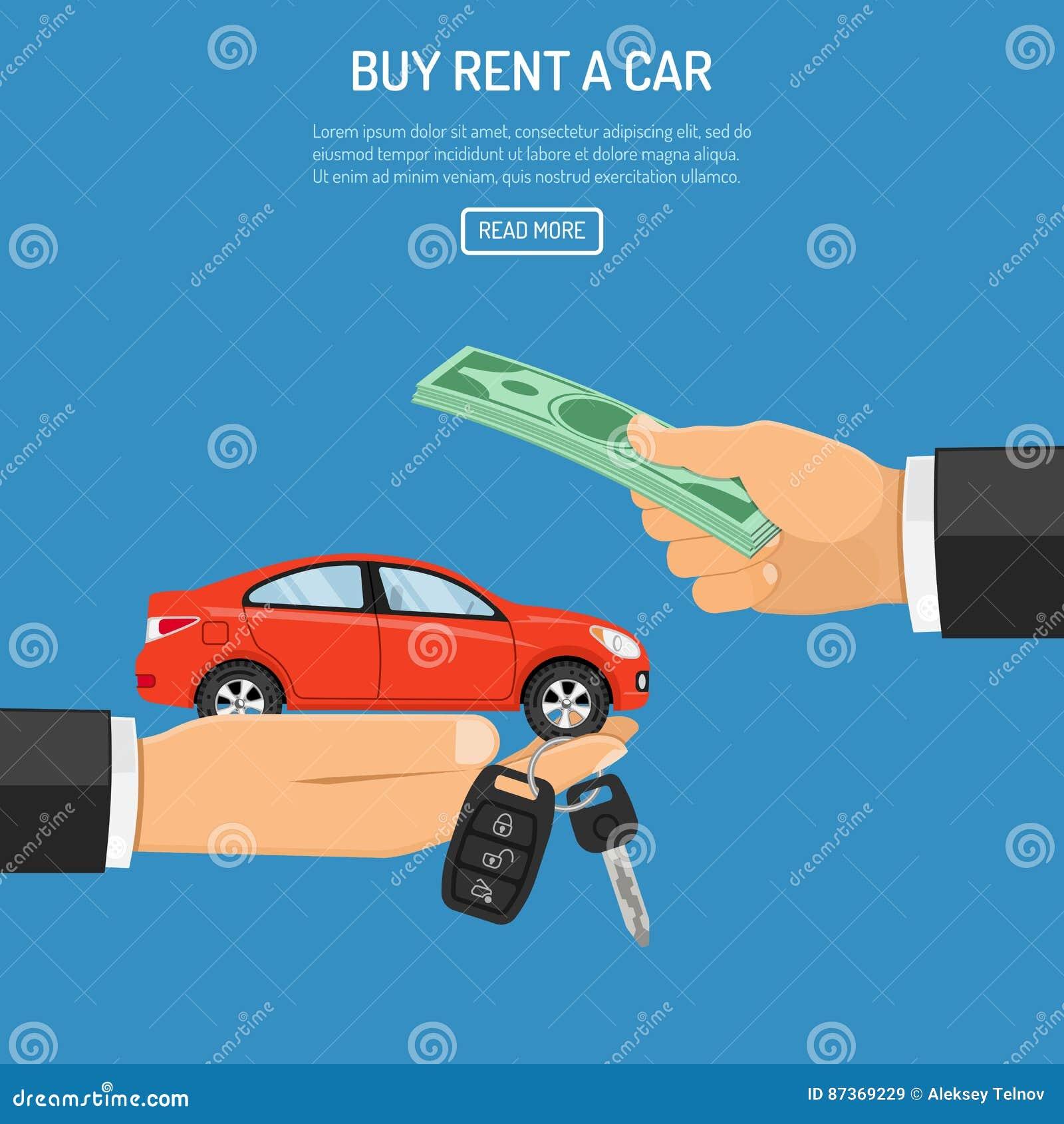 Compra ou carro alugado