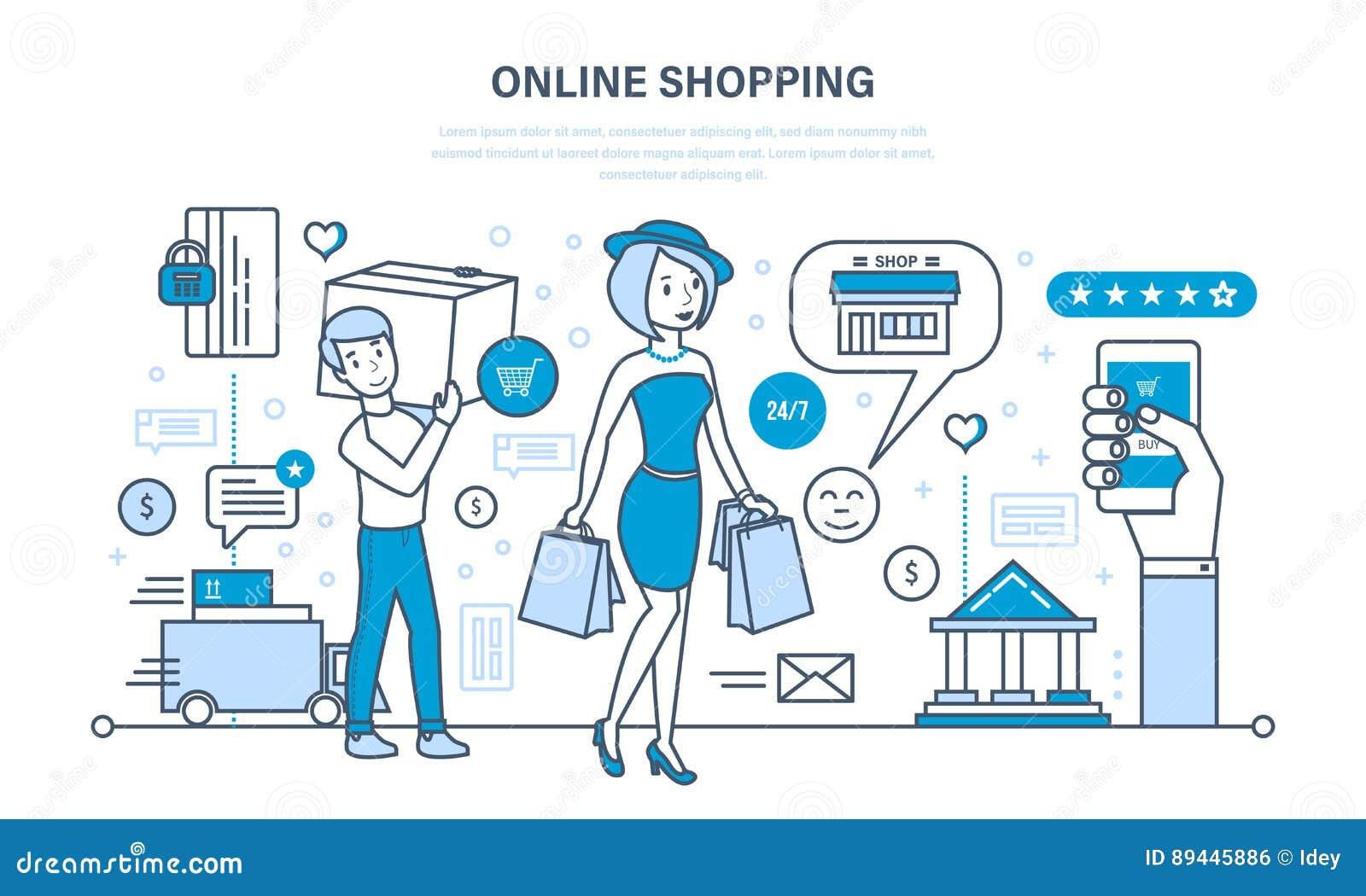 Compras Modernas, Sistema De Productos, Pago Seguro, Entrega El ...