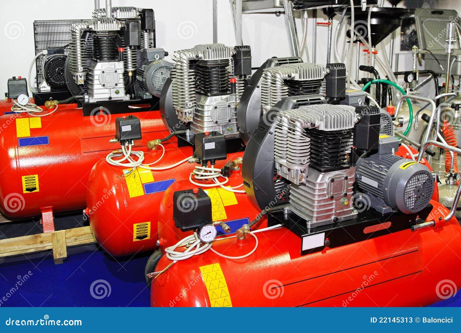 Compresores de aire imagen de archivo imagen de compresor - Ofertas de compresores de aire ...