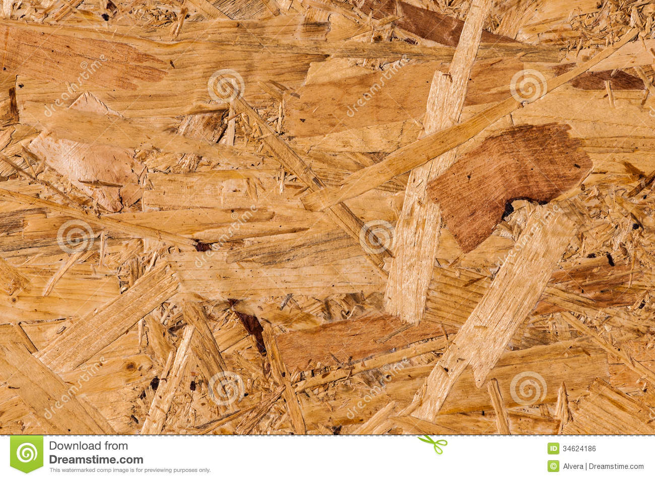 Compressed Wood Texture Detail Royalty Free Stock Image - Image