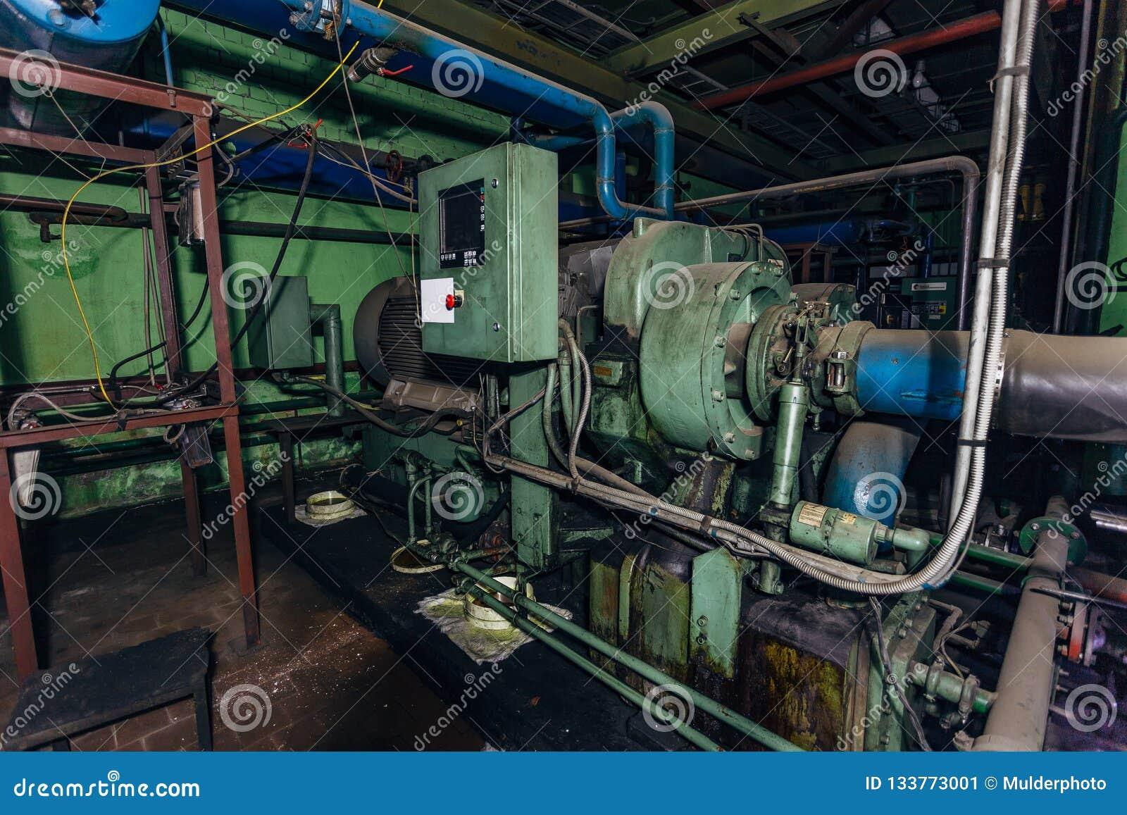 Compresseur centrifuge industriel