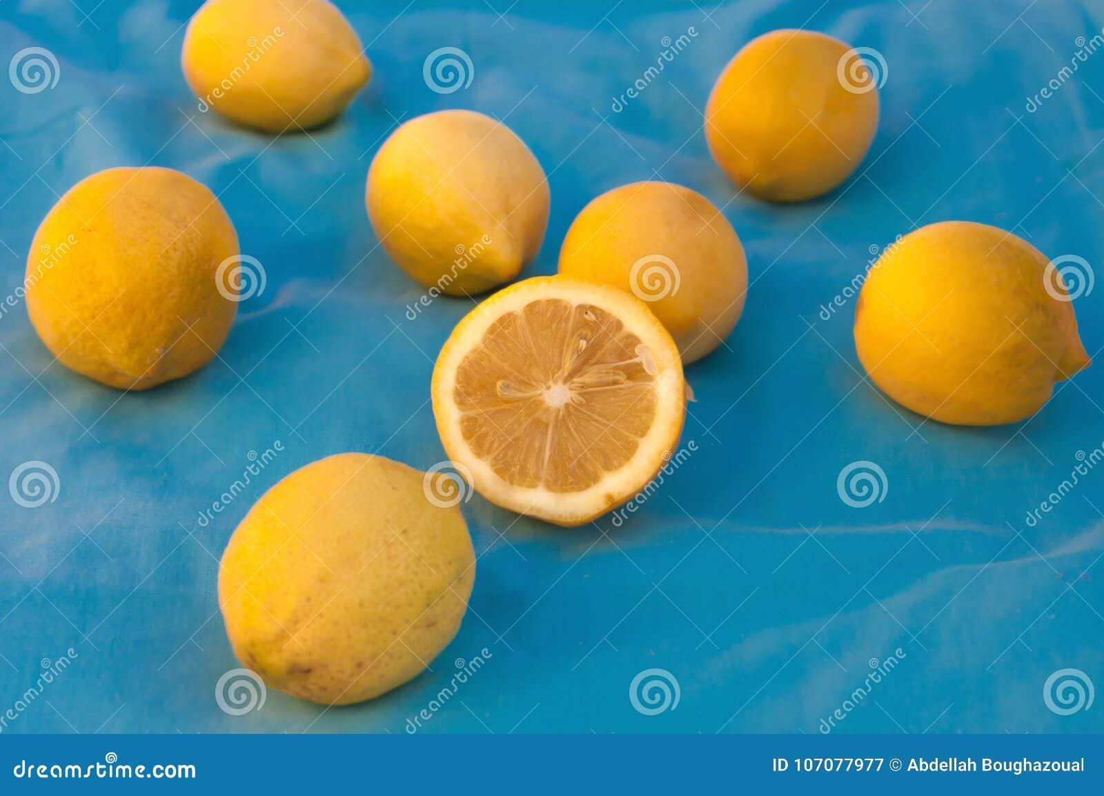 Compression marocaine de citron