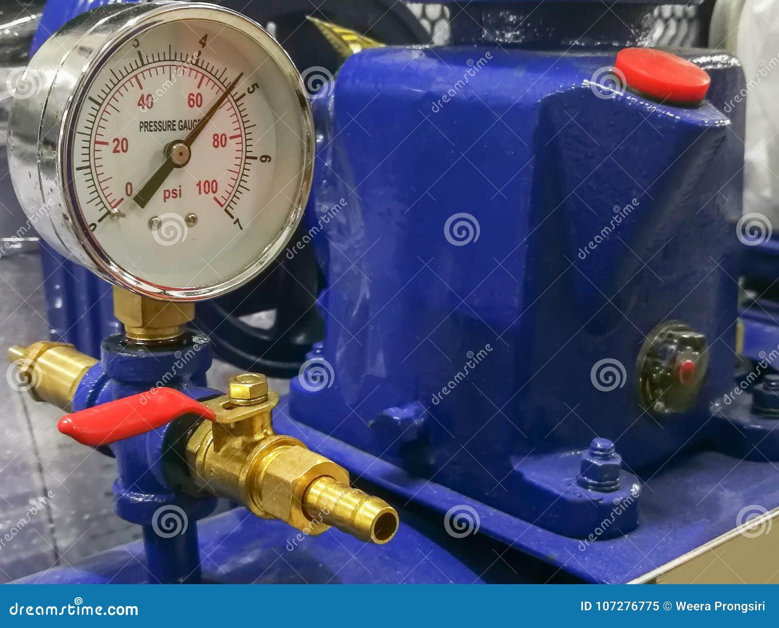 Compressor, Machine Part, Machine Valve, Metal Stock Image - Image