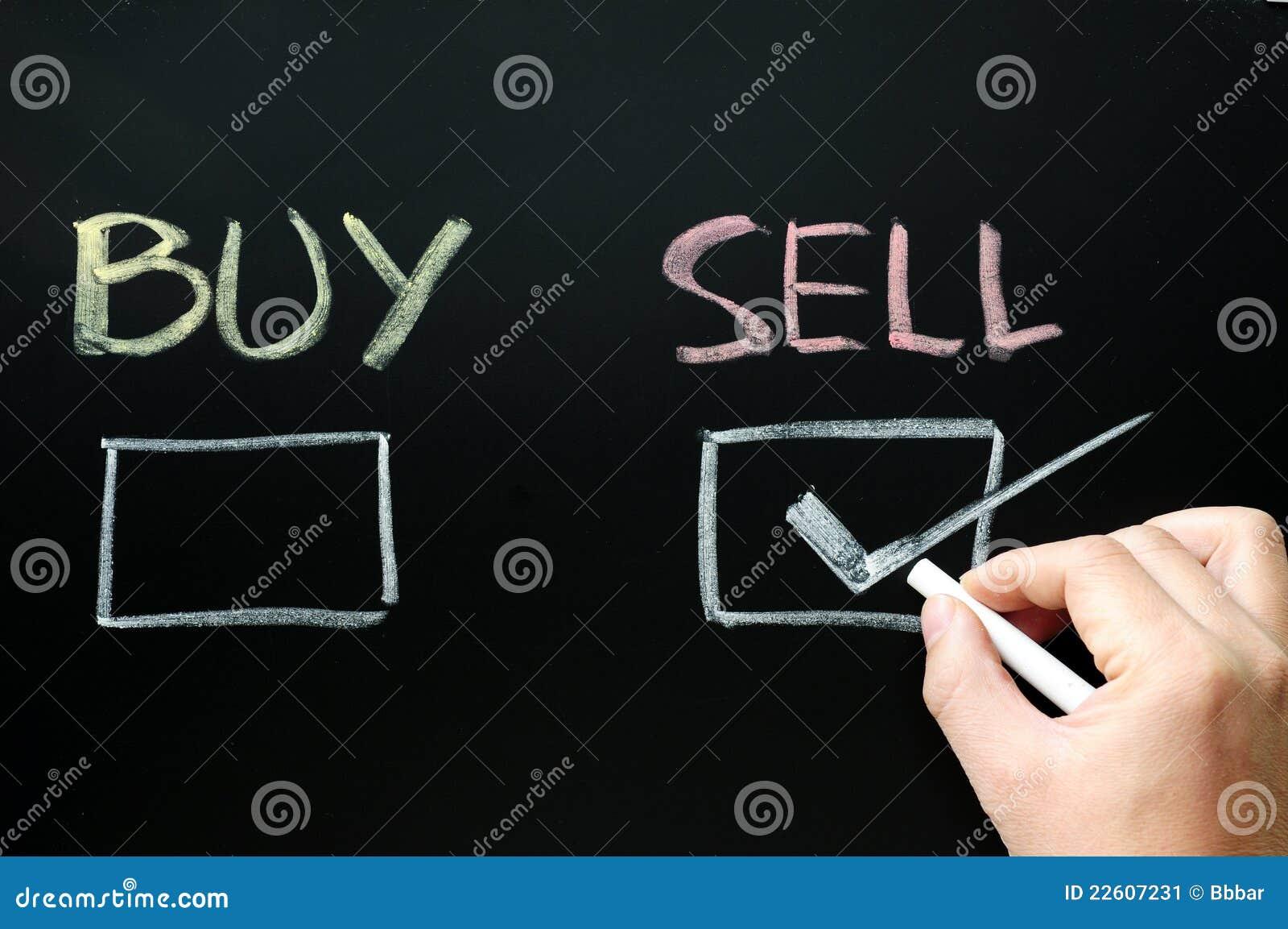 Compri o vendi le caselle di controllo sopra