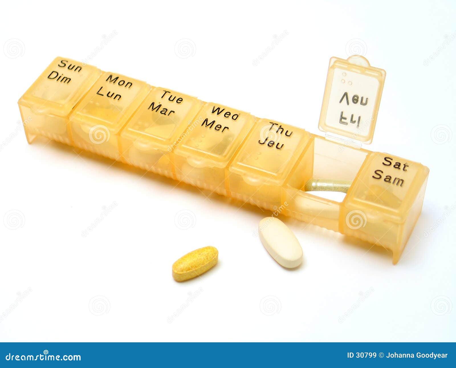 Comprimidos diários 2