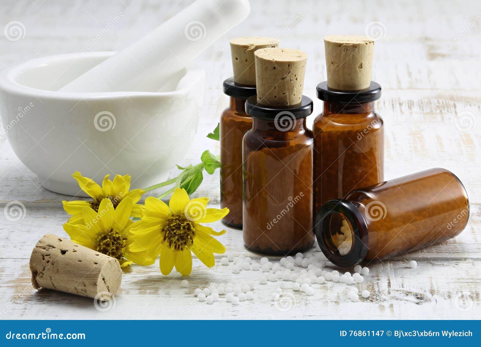 Comprimidos homeopaticamente da arnica