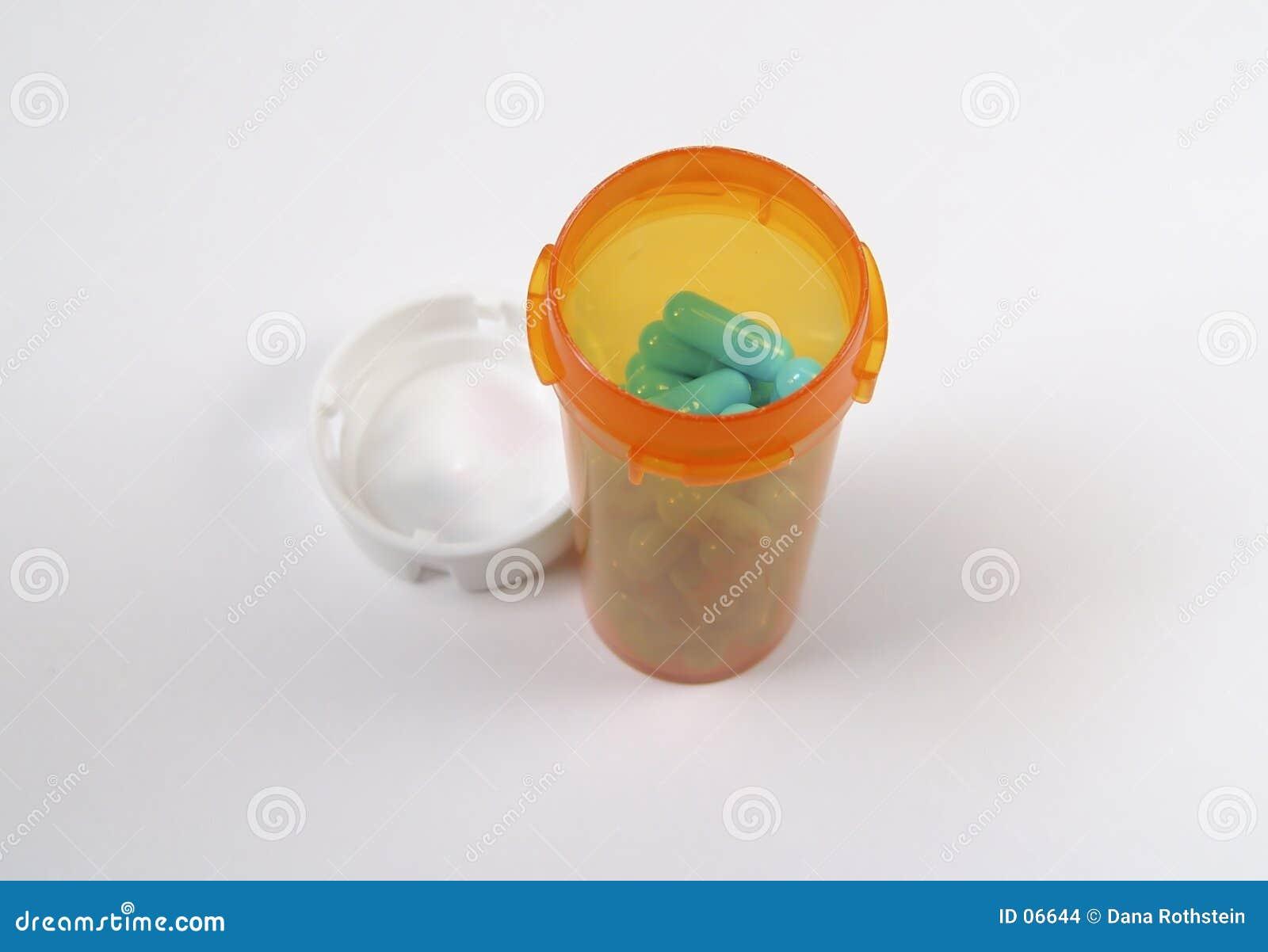 Comprimidos no frasco