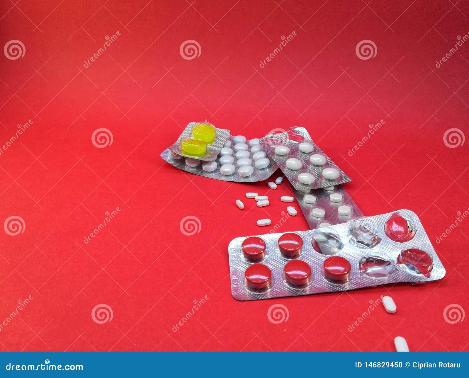 Comprimidos químicos para doenças