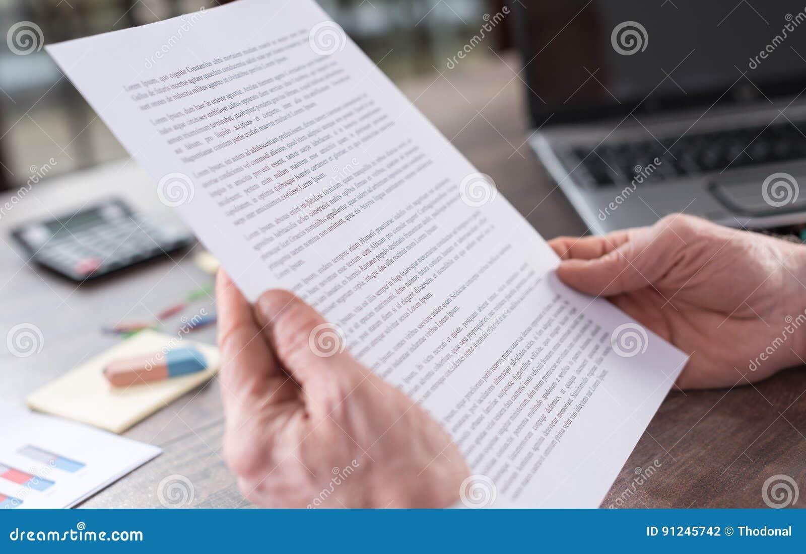 Comprobación de un documento
