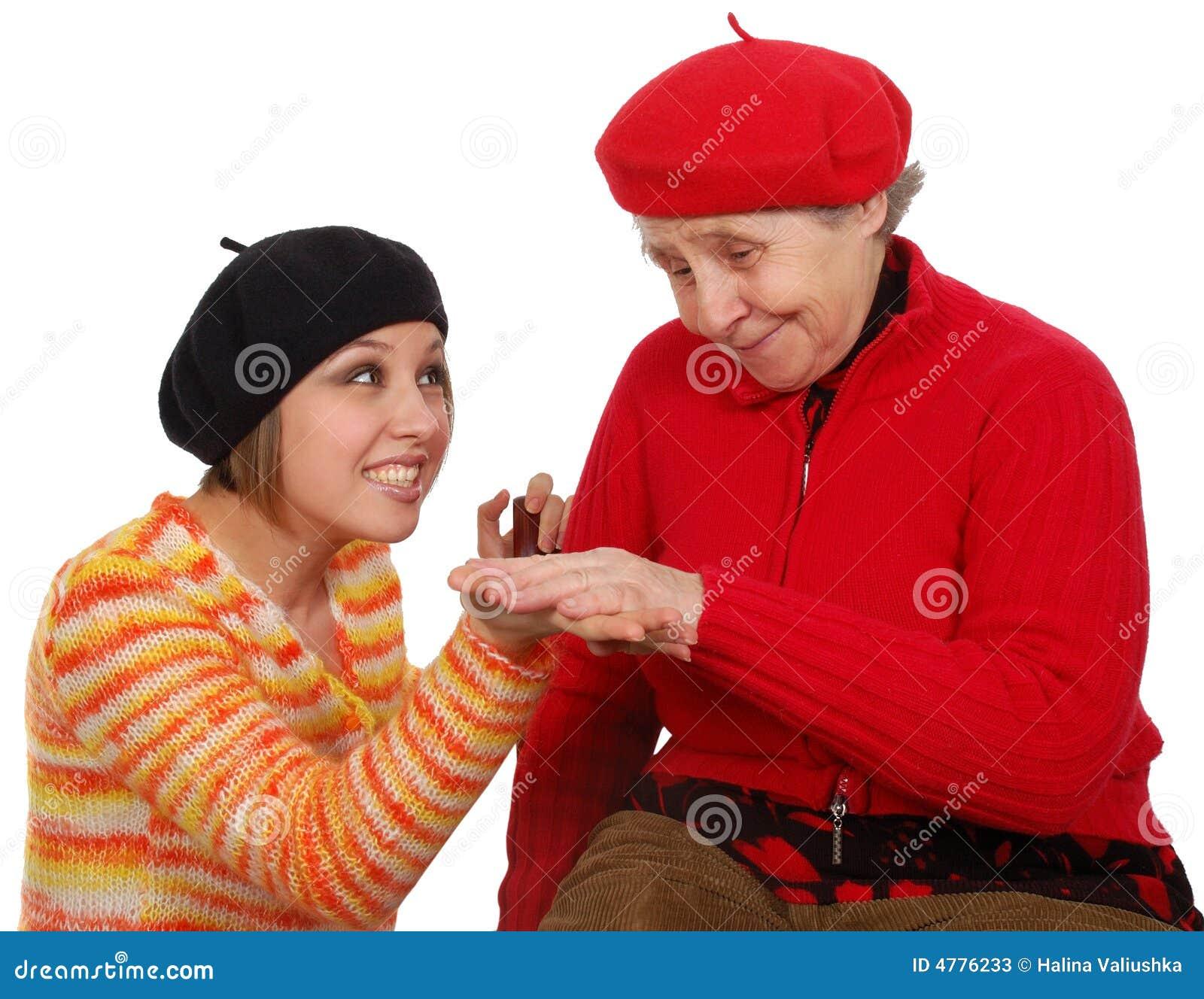 Compromise granddaughter grandmother make