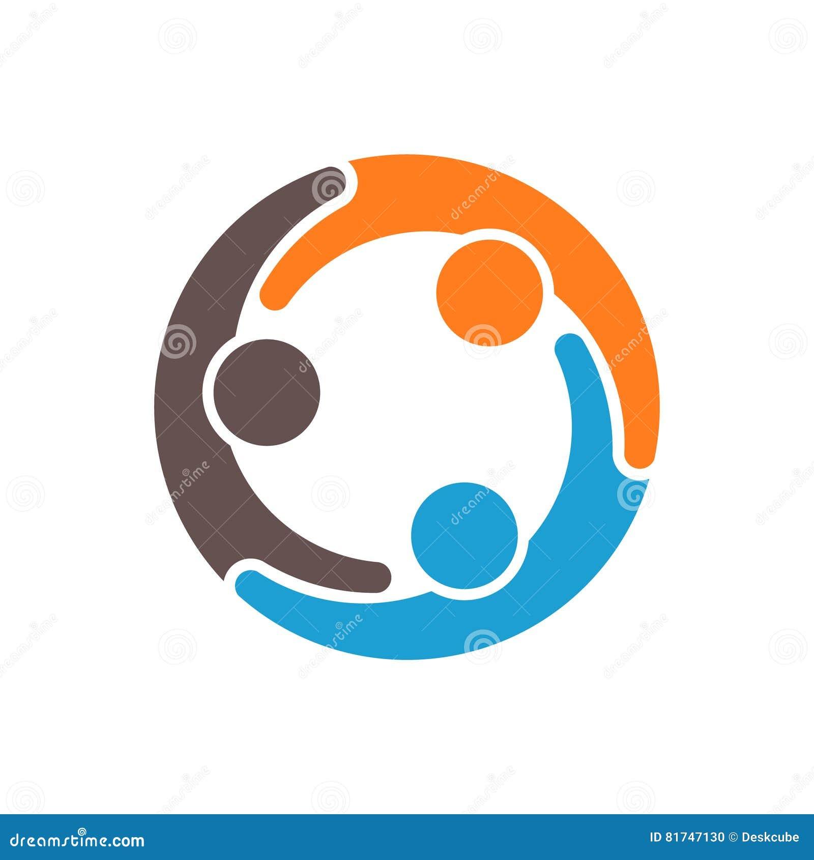Compromiso de la gente en el ejemplo de la ayuda de la comunidad