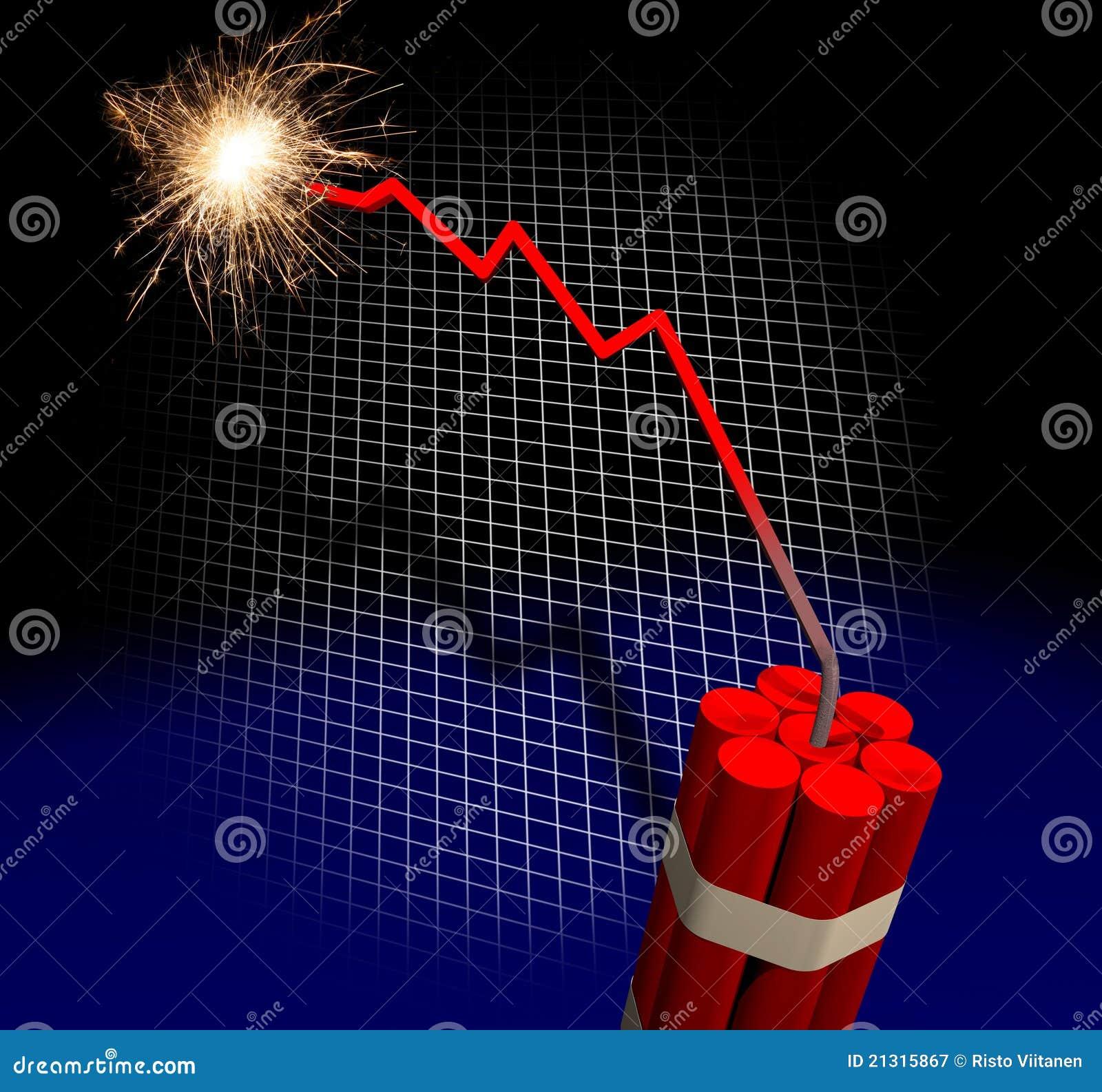 Compte à rebours de faillite