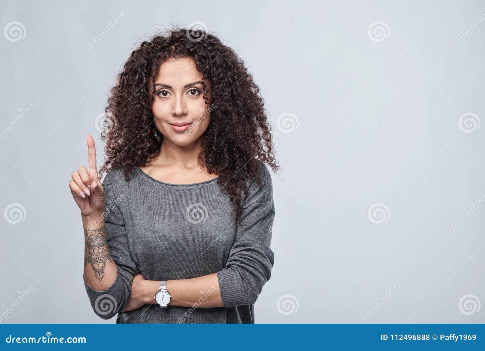 Compte de main - un doigt