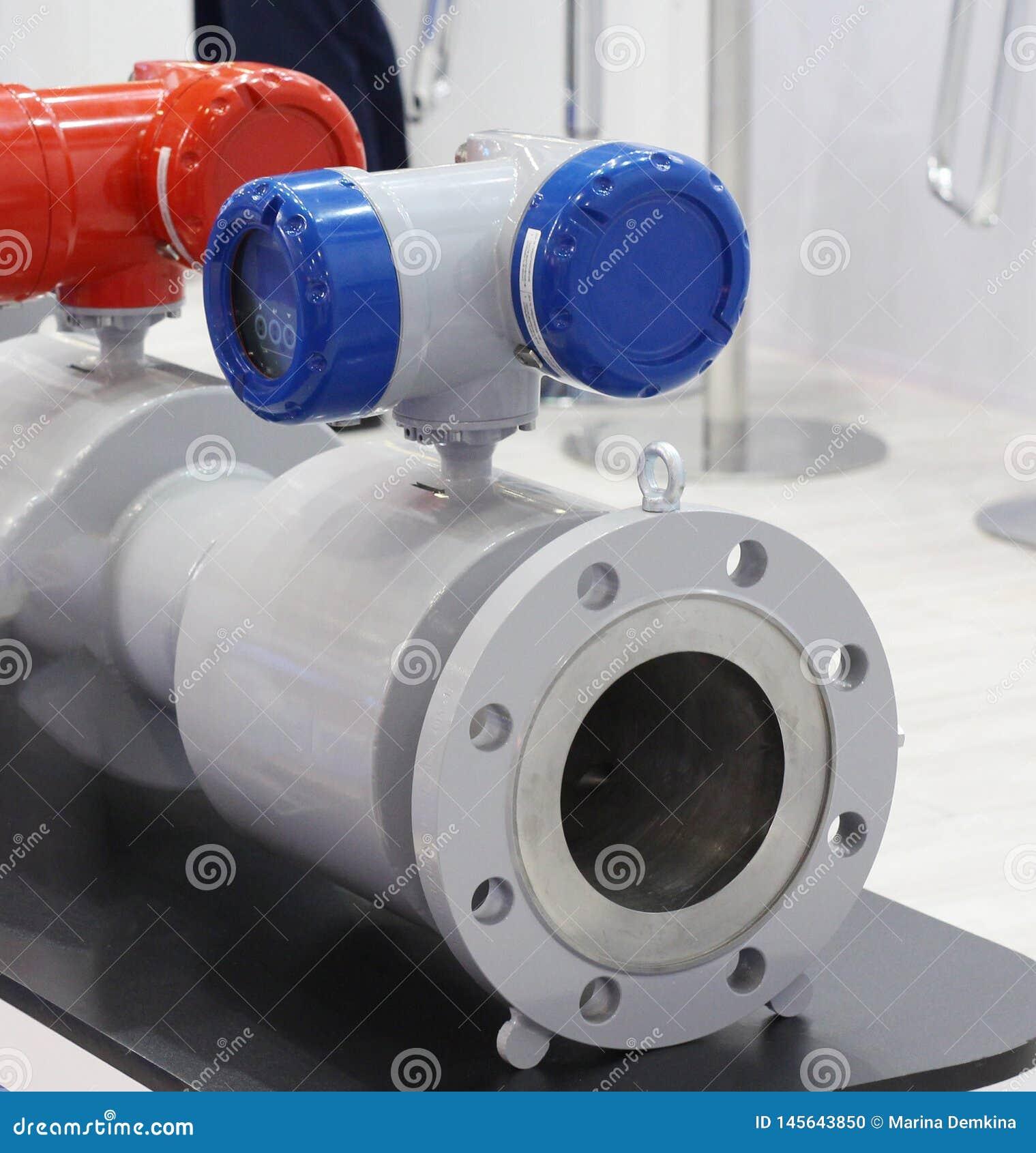 Compteur de d?bit ultrasonique pour naturel, le processus et le gaz domestique