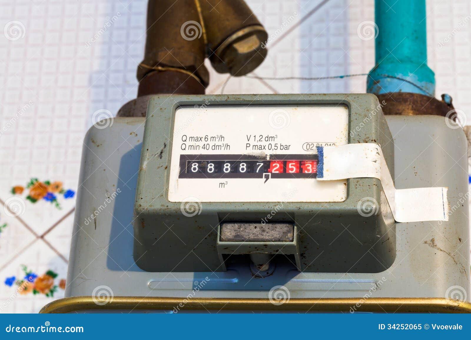 Compteur gaz individuel photo libre de droits image 34252065 - Compteur gaz individuel ...