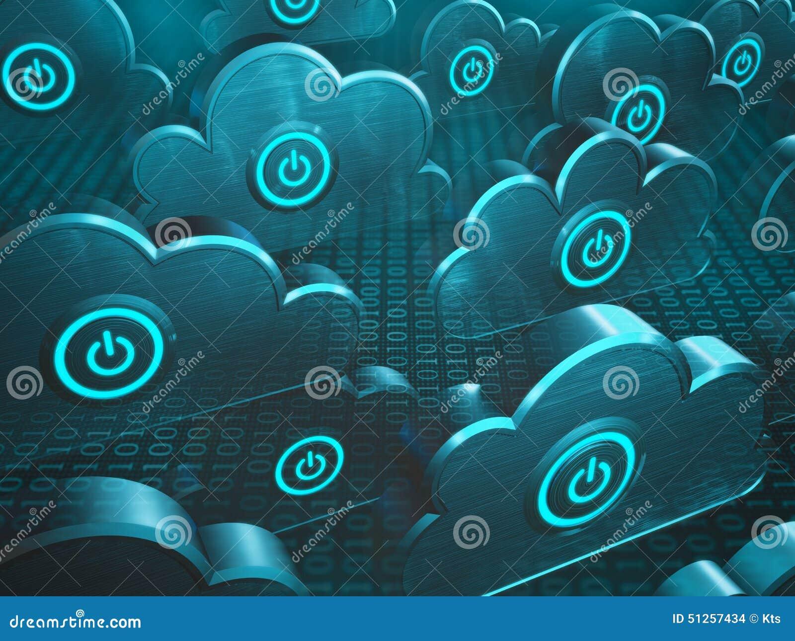 Computación de la nube del poder
