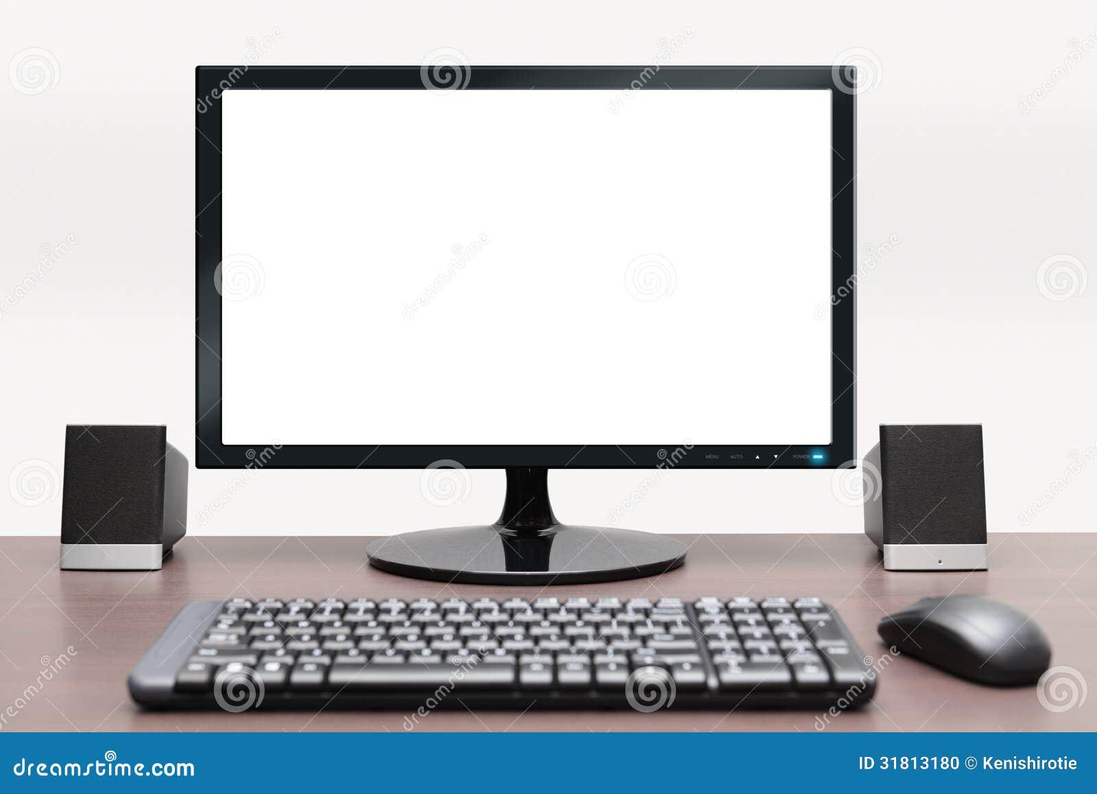 Computador de secretária contemporâneo