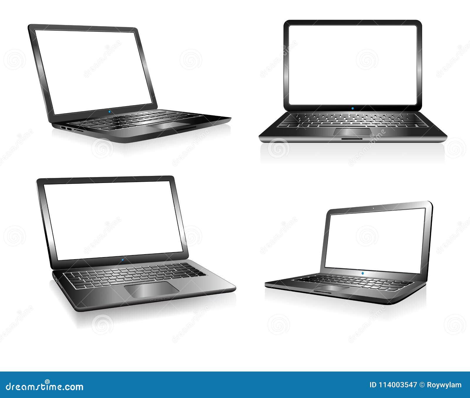 Computador do PC do portátil, caderno, eletrônica da tecnologia, computadores