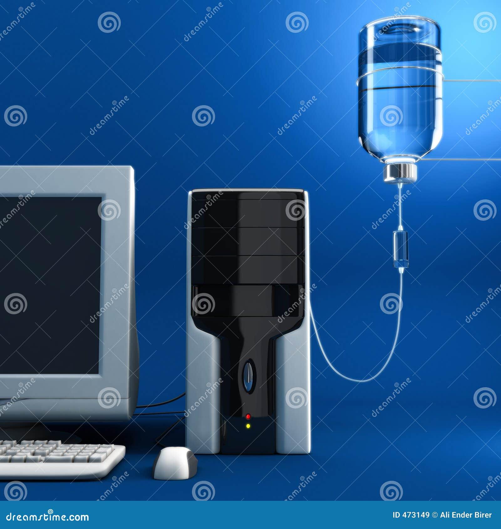 Computador doente