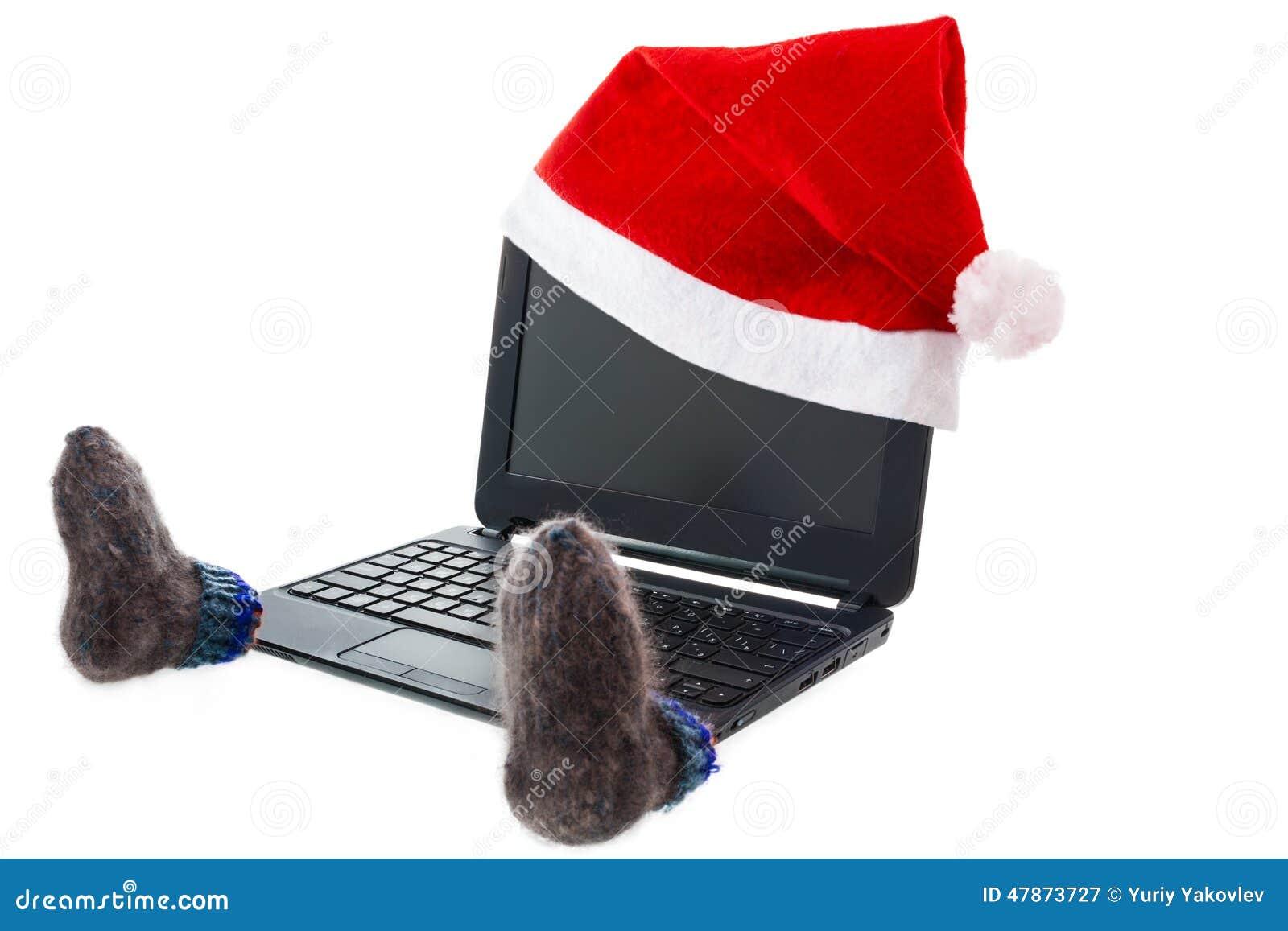 Computador no ano novo