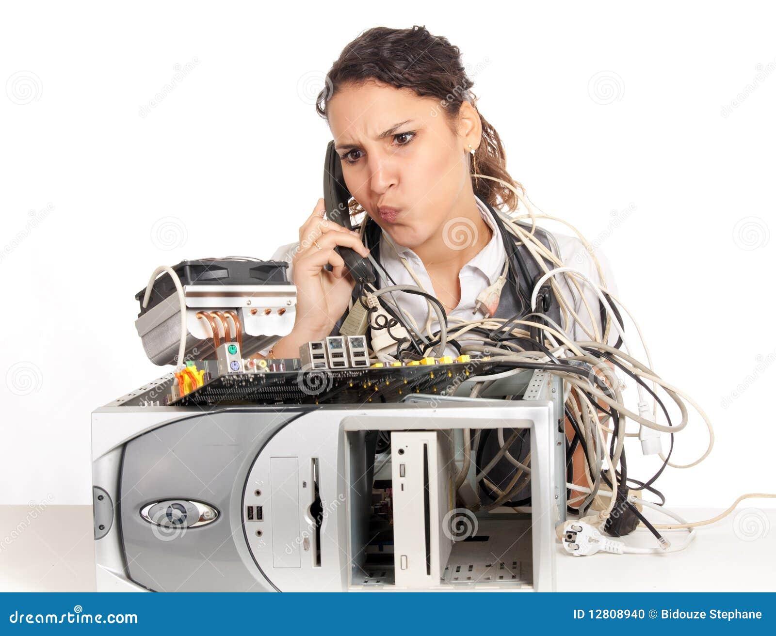 Computador quebrado