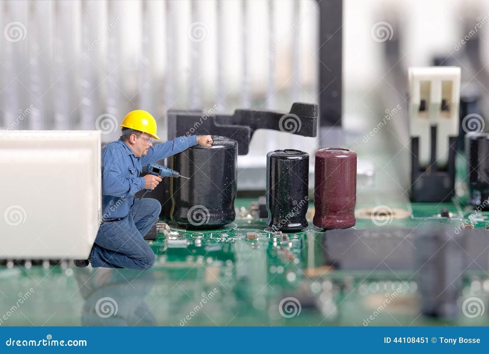 Computador, reparo da eletrônica