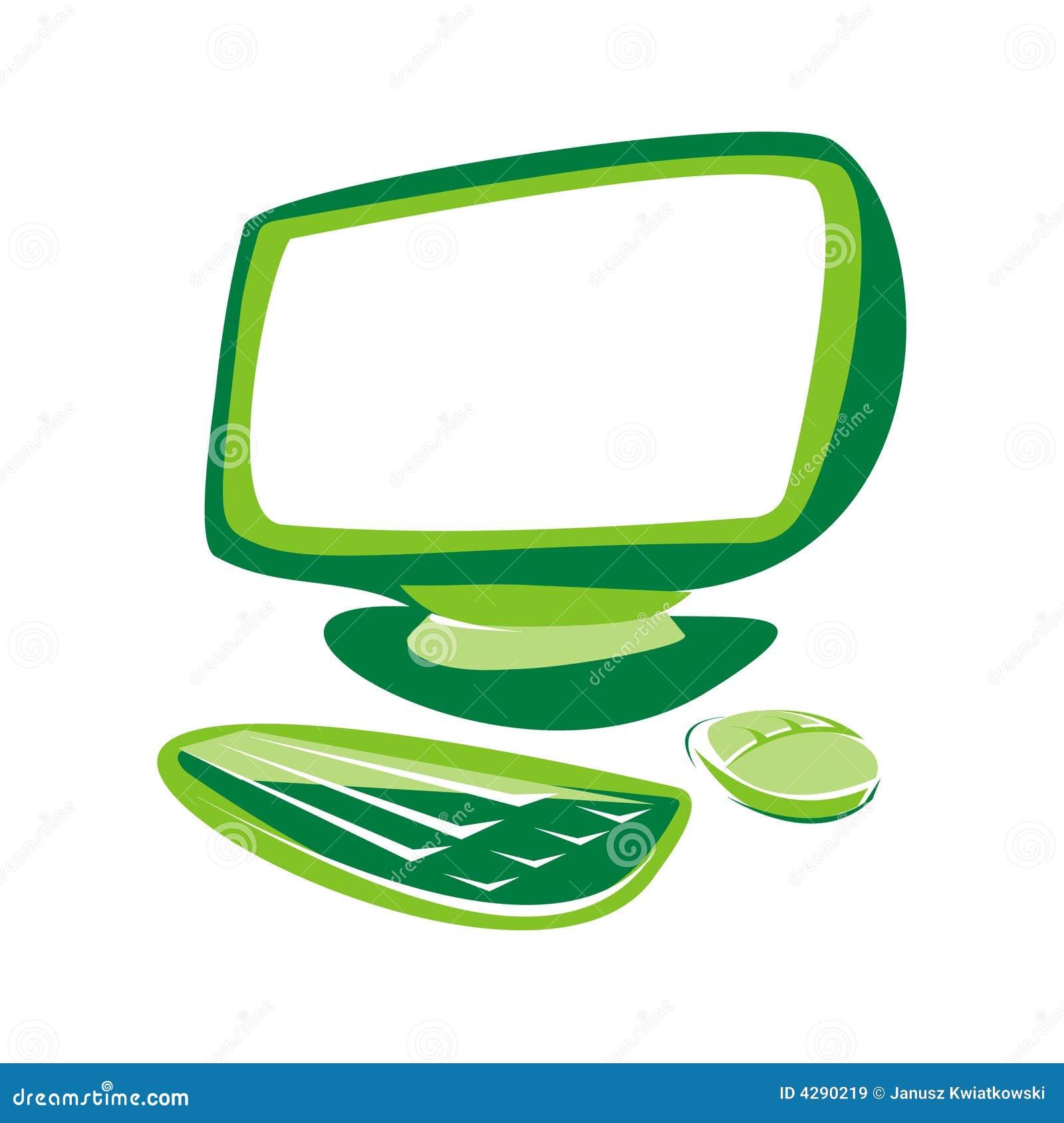 Computador verde