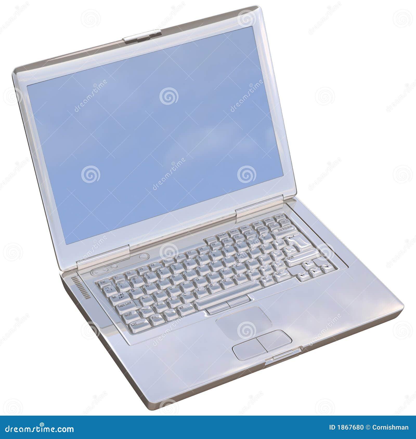Computadora portátil del cromo
