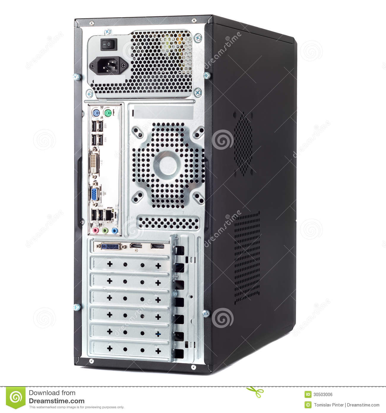 Computer Case Royalty Free Stock Image Image 30503006