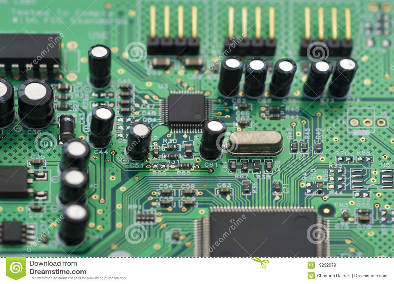 computer circuit board royalty free stock images image