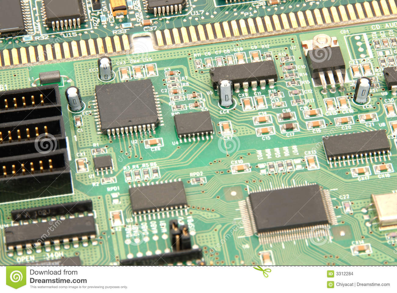 Computer Circuitry Art Golfclub Clipart Of Circuit Board Vector K3811151 Search Clip Stock Images Image 3312284
