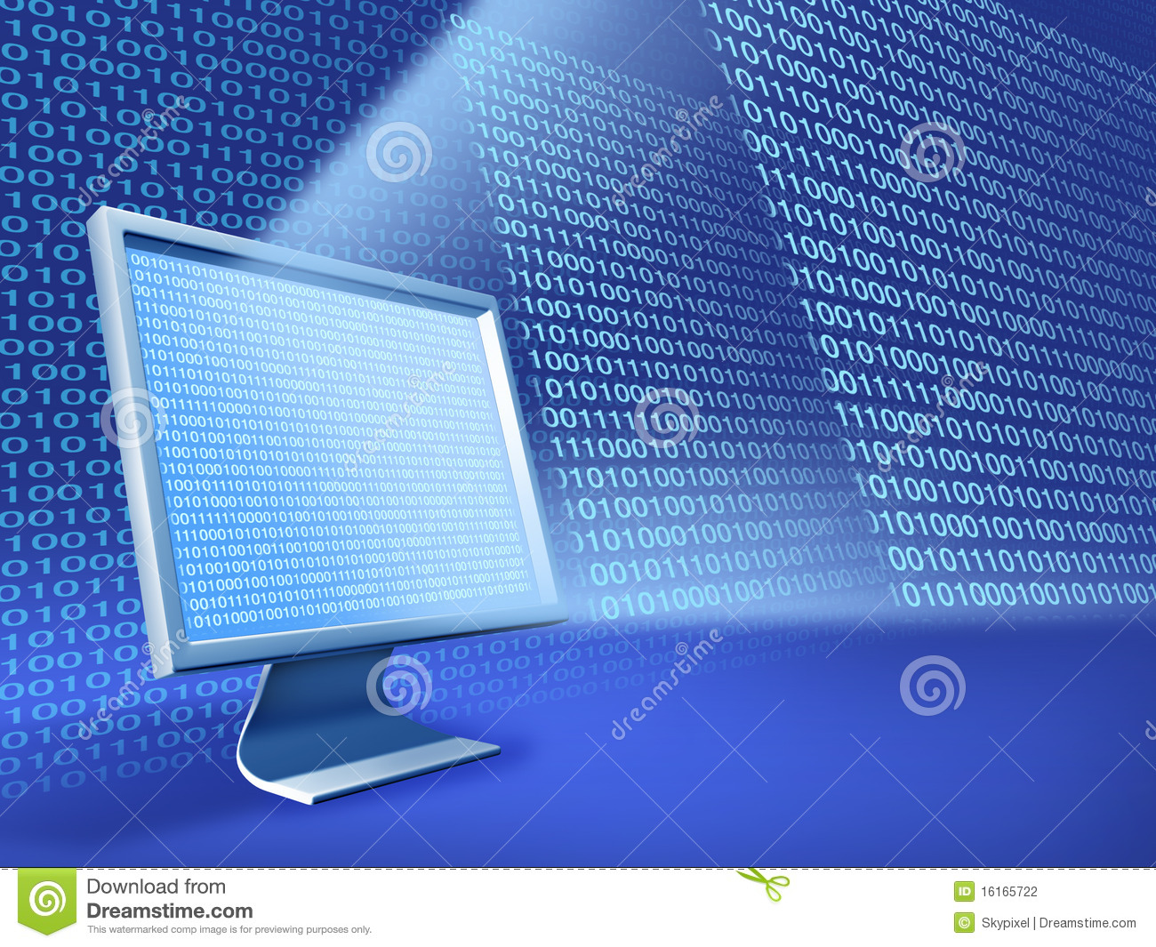 Computer Data Stock Photography - Image: 16165722