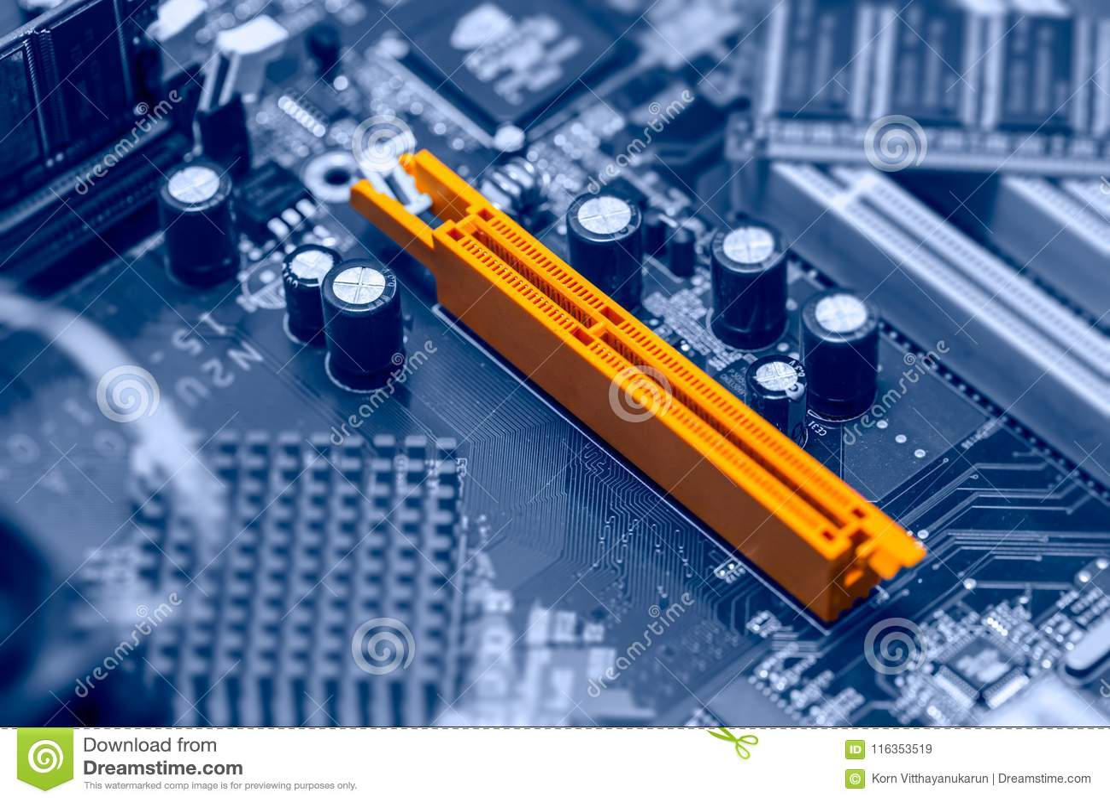 Computer della scanalatura di AGP