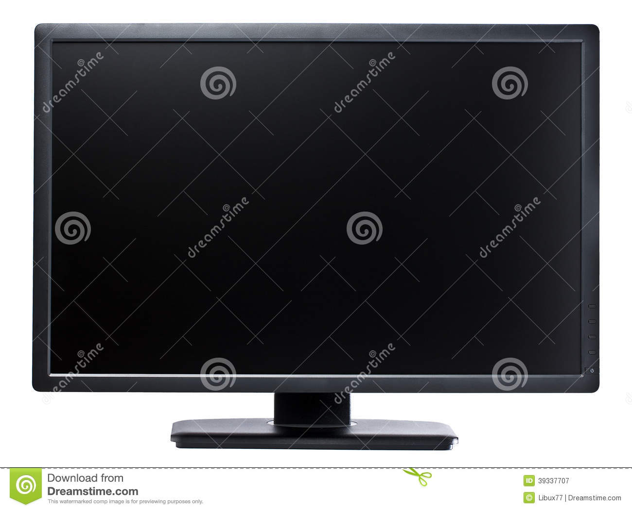 Computer Display 24 inch Black