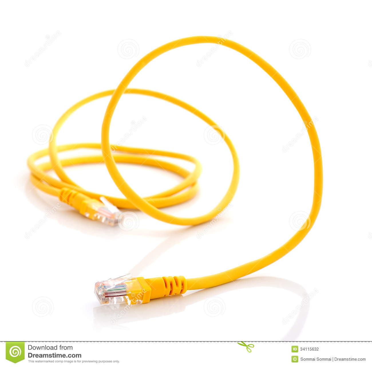Cat5 Wiring Background Diagrams Computer Cat 5 Diagram Ethernet Cable On White Stock Crossover Printable