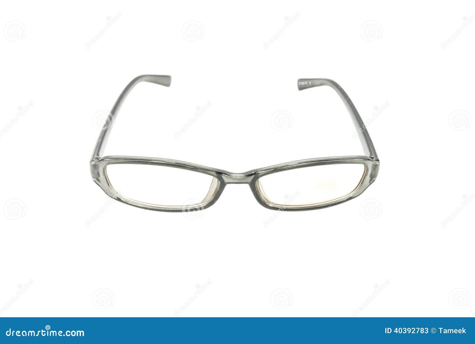 computer eye glasses stock photo