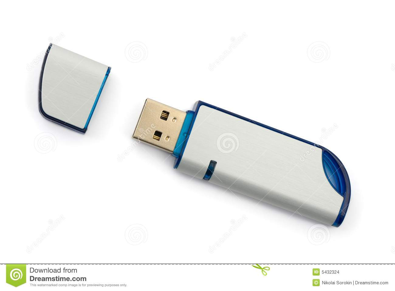 Computer Flash Memory Stock Photo Image Of Digital File