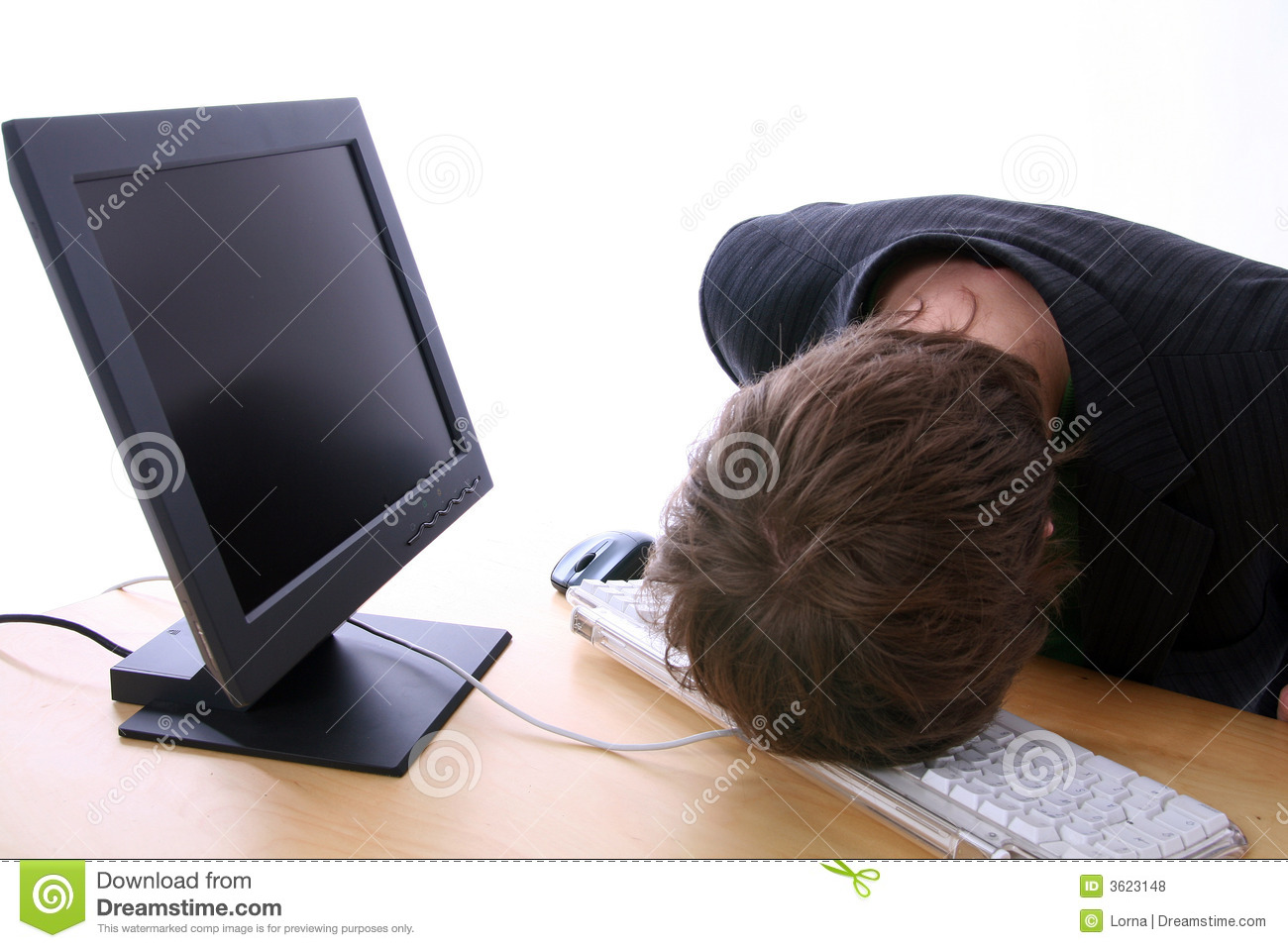 computer frustration stock photo image of keyboard anger