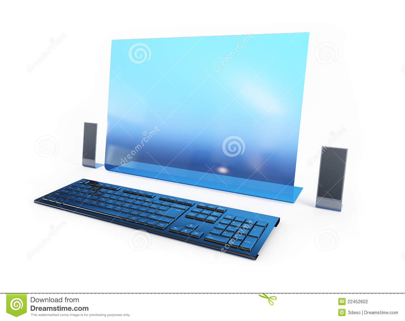 Computer Future Technology Stock Photography - Image: 22452602