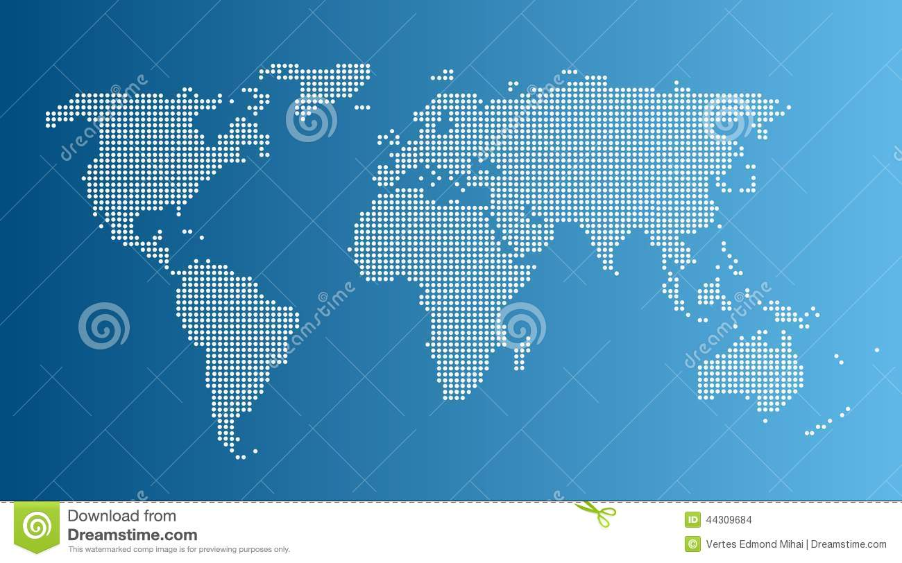 World Map Download For Computer. Computer graphic World map stock vector  Illustration of elements