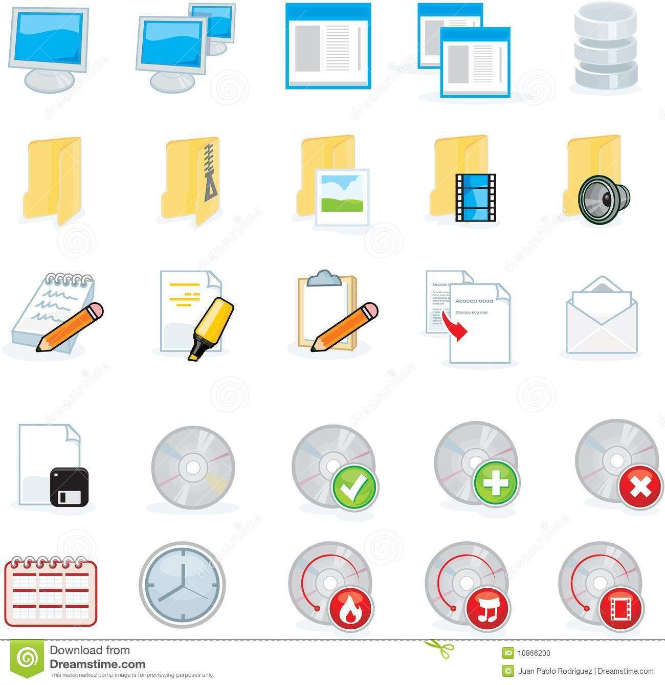 Computer Icons Stock Photo - Image: 10866200